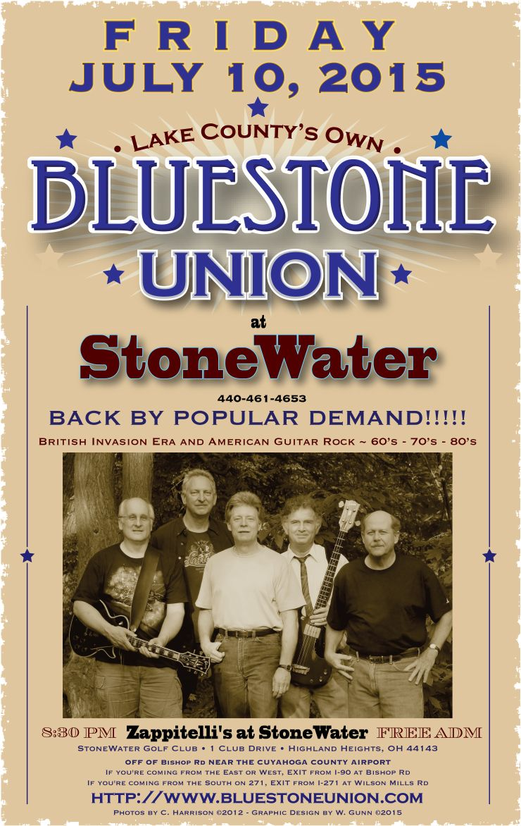 BUPosterStone Water-7-10-15-50